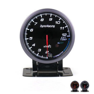 "2.5"" 60mm Pointer Exhaust Gas Temp Temperature Gauge LED EGT Test Thermometer"