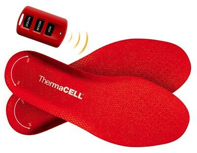 ThermaCell Heated Insoles Shoe Boot Foot Warmer Rechargeable LARGE THS01-L NEW!