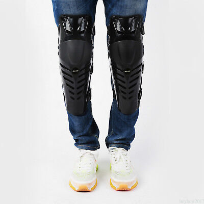 Bike Motorcycle ATV Racing Adults Knee Shin Armor Protector Guard Pad HE17