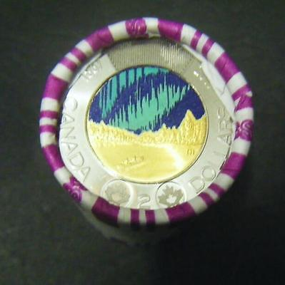 2017 Canada $2 150th Confederation Anniversary Some Colored Toonie coin Roll