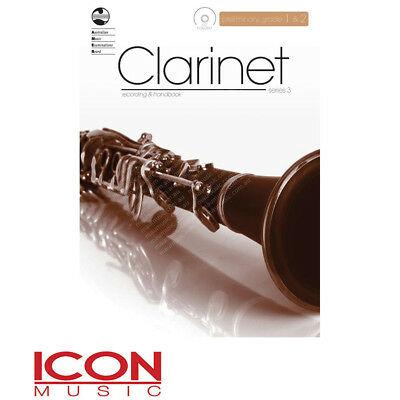 AMEB Clarinet Recording and Handbook with CD Preliminar, Grade 1 & 2, Series 3
