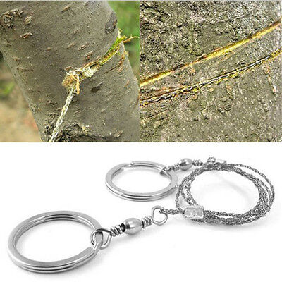 Wire Saw Commando Free Delivery Survival Metal Rings Brand New Lightweight