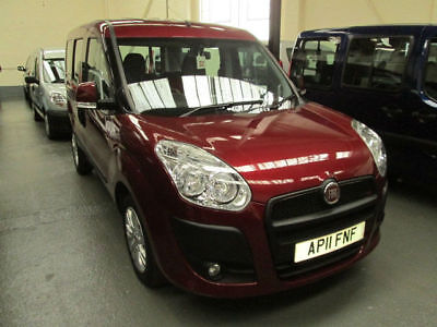 11 Fiat Doblo   Wheelchair Adapted Disabled Vehicle