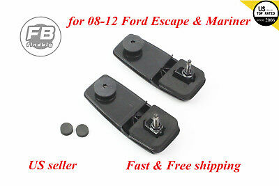Rear Window Lift Gate Glass Hinge Kit For Ford Escape & Mariner 08-12 2.5, 3.0L
