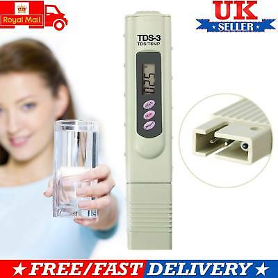 Digital TDS Meter Water PPM Tester Purity Test Pen Stick with 3 Digit Display