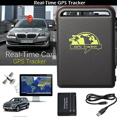 TK102 Car Mini GPS Tracker Vehicle Spy Personal Magnetic Tracking Device Locator