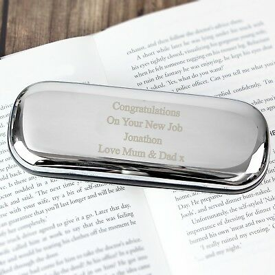 Personalised Laser Engraved Glasses Case - Hard Case - Multiple Fonts-Retirement