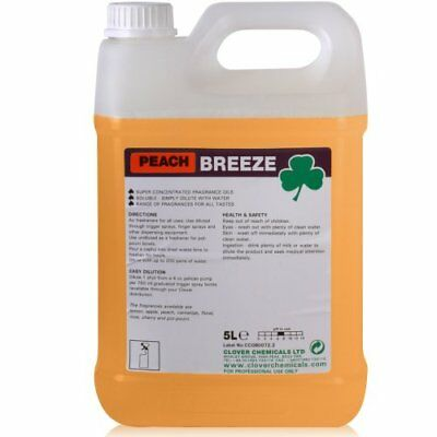 Breeze Peach Concentrated Air Freshener (5L).