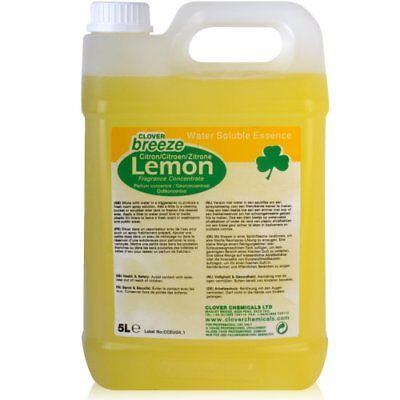 Breeze Lemon Concentrated Air Freshener (5L).