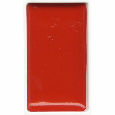 ZIG Kuretake Gansai Tambi Water colour single pan - Scarlet Red - No. 31
