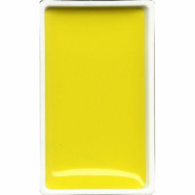 ZIG Kuretake Gansai Tambi Water colour single pan - Yellow - No. 40