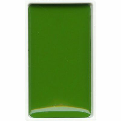 ZIG Kuretake Gansai Tambi Water colour single pan - Mid Green - No. 53