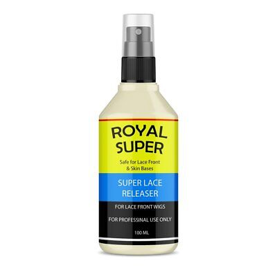 Royal Super Lace Release For Lace Front Wigs Adhesive Tape Remover 100ml