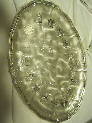 "WMF Ikora Silverplated OVAL 13.25"" SERVING TRAY"
