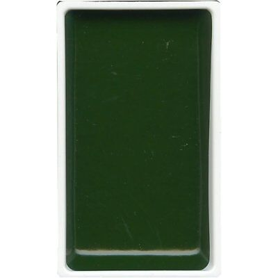 ZIG Kuretake Gansai Tambi Water colour single pan - Ever Green - No. 58