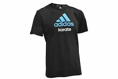 Special Offer - Adidas Kids Karate T-Shirt RRP £19.99 NOW £5.99 Black/Blue