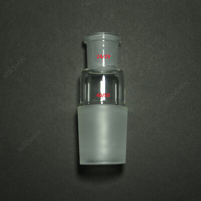 Glass Reducing Joint,Female 24/29 to male 40/50,laboratory Glassware Adapter