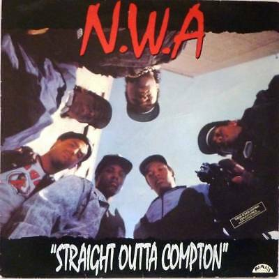 LP: N.W.A. - Straight Outta Compton - Ruthless Records - BRLP 534, Priority Reco