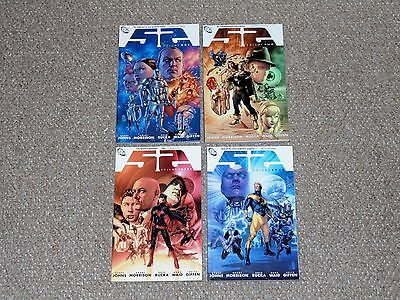 DC Comics 52 Vol. 1, 2, 3 & 4 TPB Graphic Novel Set Lot Grant Morrison