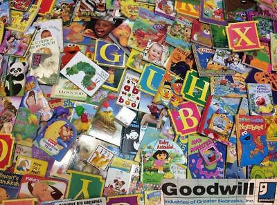 Childrens BABY board books Lot of 20 RANDOM Toddler & babies, Hardcover