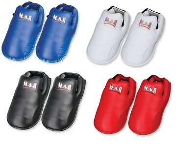 Elite Foot Protector Karate Kickboxing Boots Taekwondo Competition Guard Pads