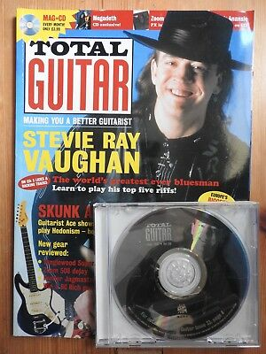 Total Guitar magazine #33 - Jul 1997 with CD - Stevie Ray Vaughan  Skunk Anansie