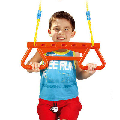 Flying Ring Trapeze Kids Seat Children's Garden Outdoor Branch Tree Play Safety
