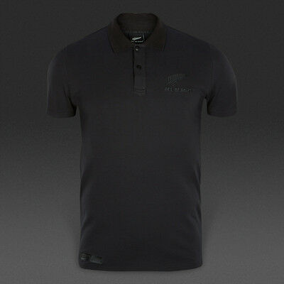 1e3c4a96ebc NEW Adidas New Zealand All Blacks Rugby Polo Shirt Men s Large 16th Man NWT