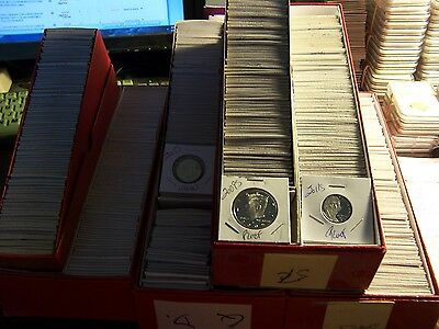 20 Proof Coin Lot#02-No Pennies-From  Hoard Of Boxes From An Elderly Collector
