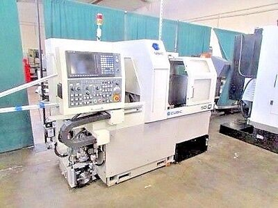 2012 CUBIC SD-16 7 AXIS CNC SWISS SCREW MACHINE w/Mitsubishi control VIDEO