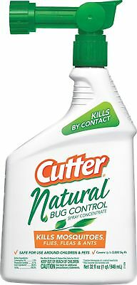 Cutter Natural Bug Control Spray Concentrate (HG-95962) (32 fl oz) Pack of 1