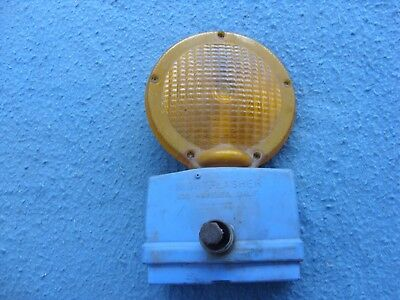 Used Traffic Barricade Flashing Light
