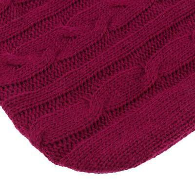 Soft Thick Knitted Fleece Covers Case For Large 2L Hot Water Bottle Warm Bag