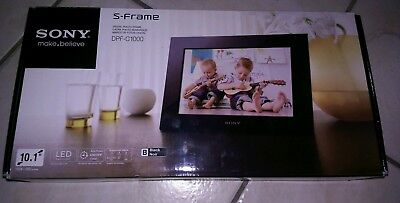 SONY DPF-C1000 10.1-INCH DIGITAL PHOTO FRAME Brand New Never Opened