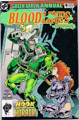 Green Arrow Annual Bloodlines #6 DC Comics