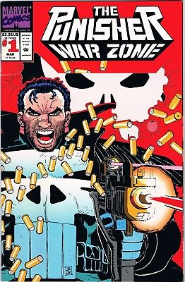 The Punisher War Zone #1 (1992) Marvel Comics
