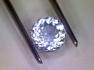 Tanzanite - Top Quality - IF, Natural, Round Facetted,- Large 1.69 Carats,