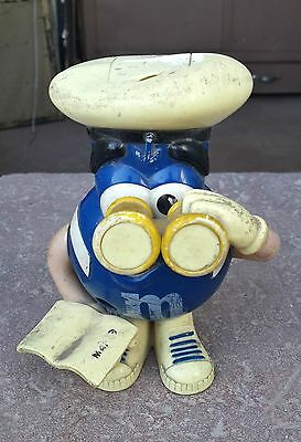 M&m V Rare Character Holding Binoculars & Book Candy/jam Dispenser,philippines
