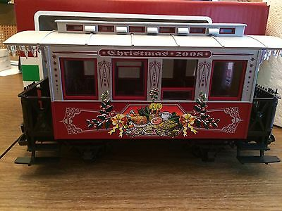LGB 35079 Christmas 2008 Annual Passenger Coach New in Box!