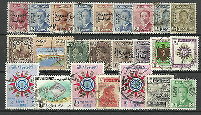 IRAQ STAMP COLLECTION & PACKET of 25 DIFFERENT Used Stamps NICE SELECTION