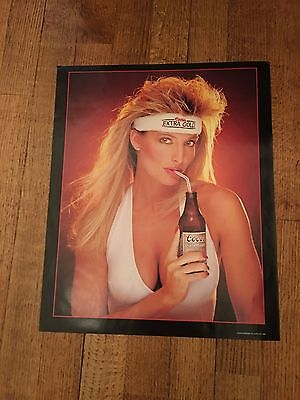 Coors Extra Gold Beer Poster