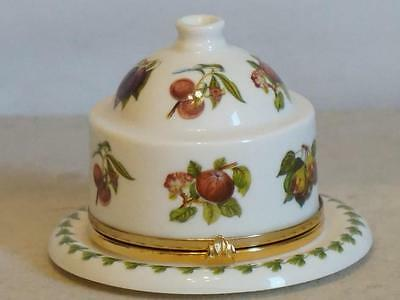 PORTMEIRION POMONA ~ Miniature Cheese Dome ~ The Hoary Morning Apple ~ BOXED
