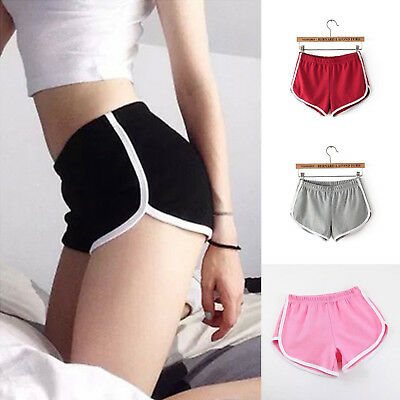 1X Girl Summer Pants Women Sports Shorts Gym Workout Waistband Skinny Yoga Short