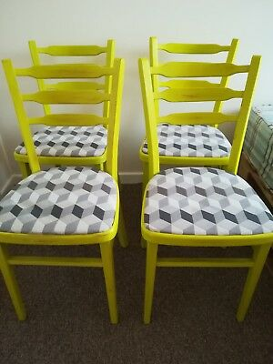 chalk paint set 4 chairs