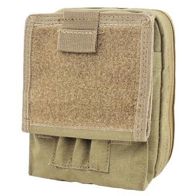 CONDOR MA35-003 Modular MOLLE Tactical Map Admin ID Pouch Holster Case Coyote