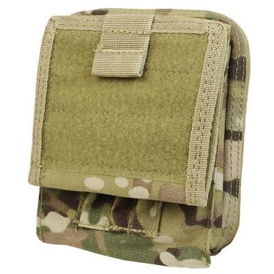 CONDOR MA35-008 Modular MOLLE Tactical Map Admin ID Pouch Holster Case MultiCam