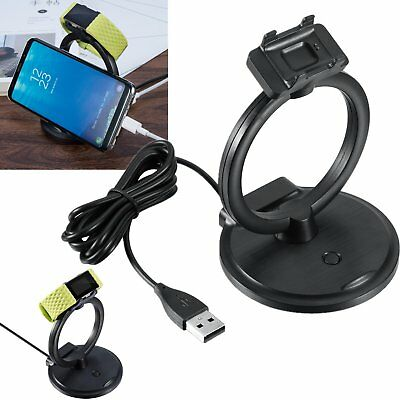 2 in 1 Charger Dock Charging Stand For Fitbit Charge 2 & Smart Phones Holder