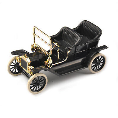 1923 Ford Model T Black 1/43th Alloy Diecast Car Convertible Vehicles Kids Toy