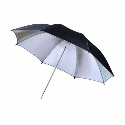 Reflective Umbrella with Black and Silver Cover Photography Umbrella Reflector A