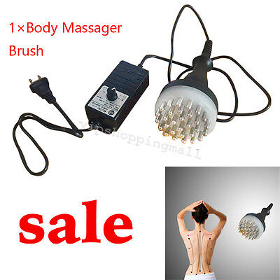 Infrared Meridian Therapy Machine Full Body Acupuncture Massage Brush Home Salon